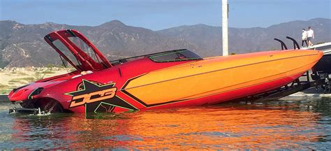 dcb boats first mercury 1550 powered dcb m35 reaches 180 mph