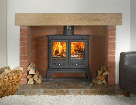 17 Best images about brick fireplaces on Pinterest   Wood