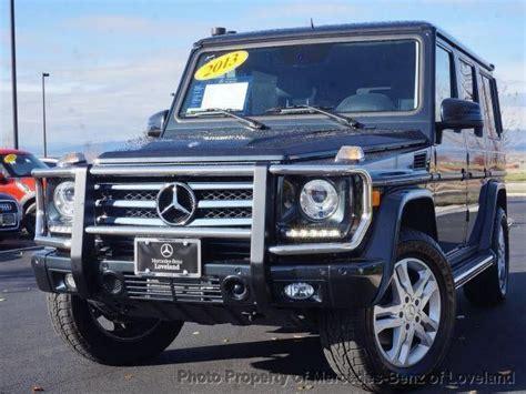 mercedes benz jeep 2013 black 2013 mercedes benz g class g550 awd g550 4matic 4dr suv