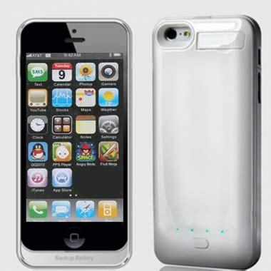 alimentazione iphone 5 2800mah portatile caso alimentazione di backup con il