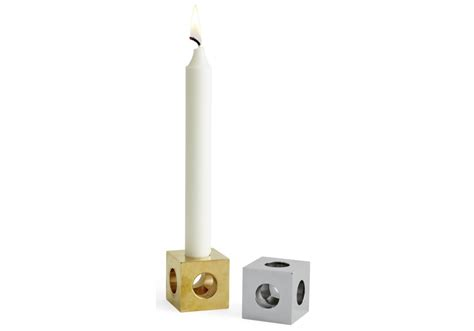kerzenhalter cube cube candle holder menu leuchter milia shop