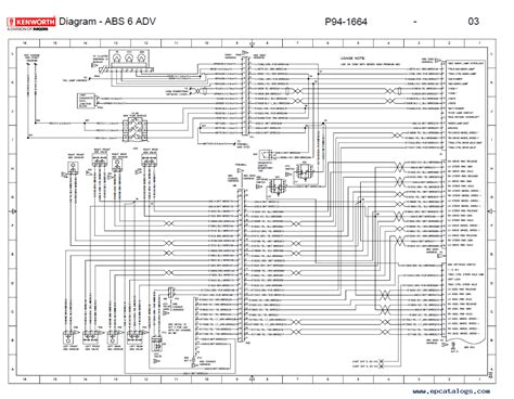 kenworth t800 truck electrical wiring wiring diagram