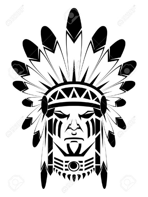 apache tattoo designs 14968208 apache stock vector indian tribal jpg 974