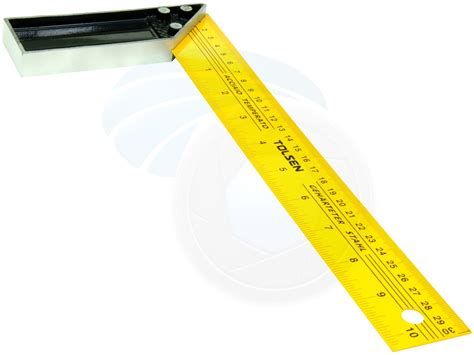 12 Inch L by 12 Inches 30cm Construction Carpenter Ruler L Shape Angle
