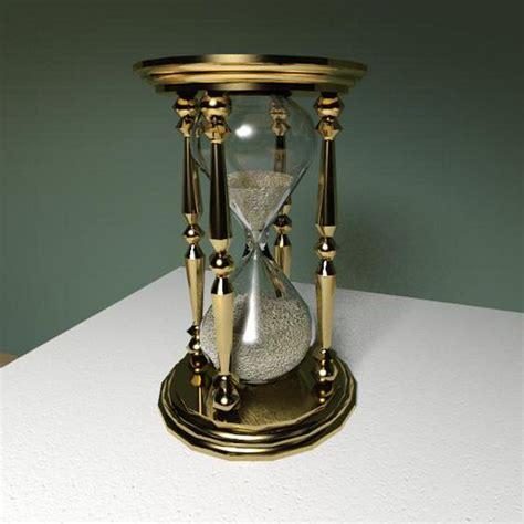 brass hourglass  model formfonts  models textures