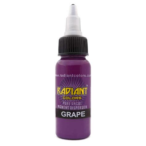 tattoo ink colors ink radiant colors grape