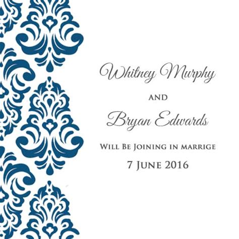 Easy To Make Wedding Invitation Cards