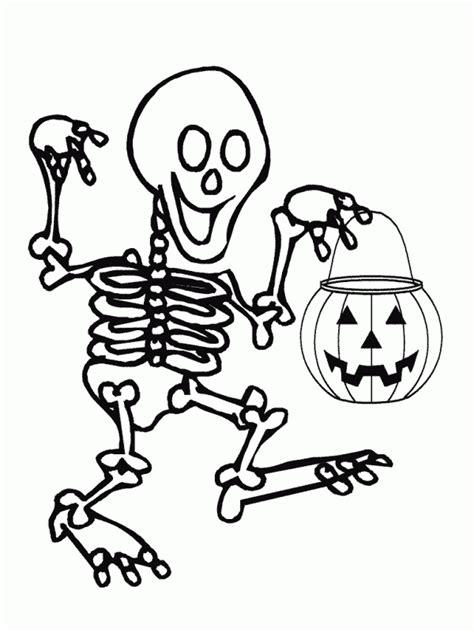 imagenes halloween esqueletos dibujos de esqueletos de halloween para pintar colorear