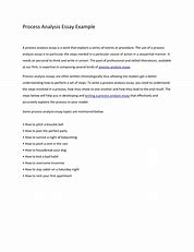 Image result for writing a process analysis essay