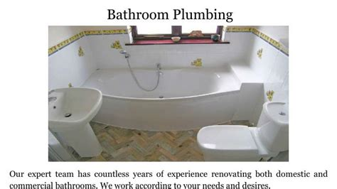 Bathroom Plumbing Sydney by Ppt Bay Plumbing Services In Sydney Powerpoint