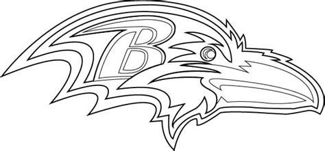 baltimore ravens logo outline vector broken bison