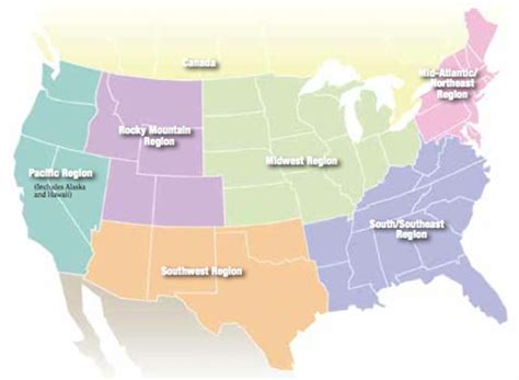 map of the united states broken down into regions trail riding regions where to ride guide expert advice