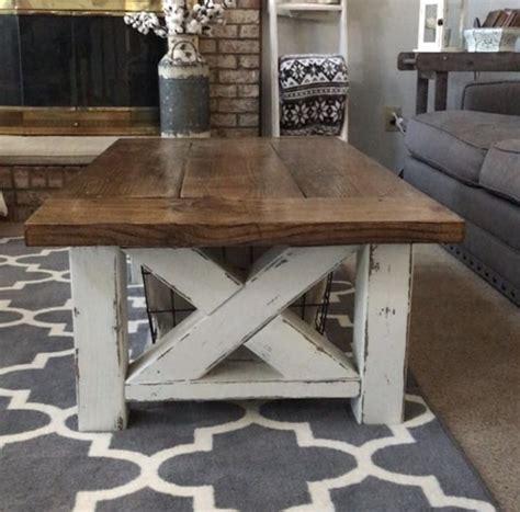 farmhouse coffee table white chunky farmhouse coffee table diy projects