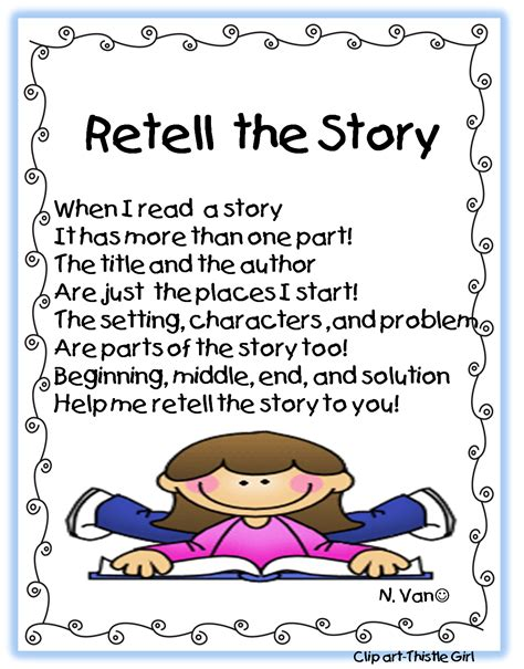 retell new year story grade retelling stories retelling fiction and