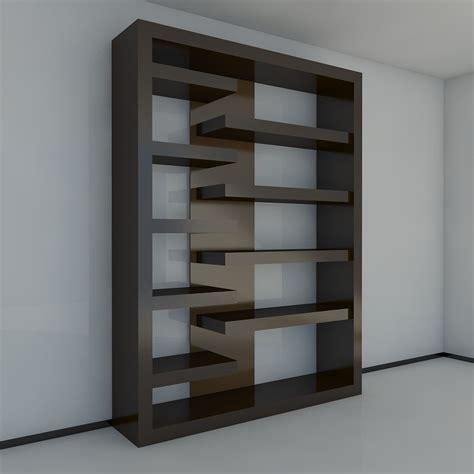 bookshelf 3 3d model max obj 3ds fbx cgtrader