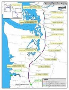 williams oregon map breaking news new lng pipeline transects washington to