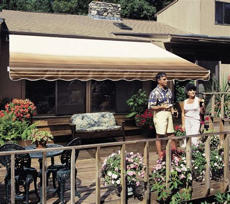 sunsetter awning manual 12 ft sunsetter vista 174 retractable awning manual outdoor