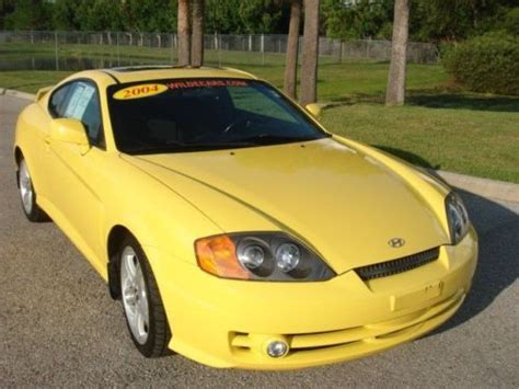 purchase used 2004 hyundai tiburon special edition gt automatic in sarasota florida united states