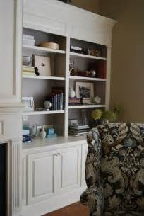 Painted Built In Bookshelves Painted Bookcases Interior Designer In