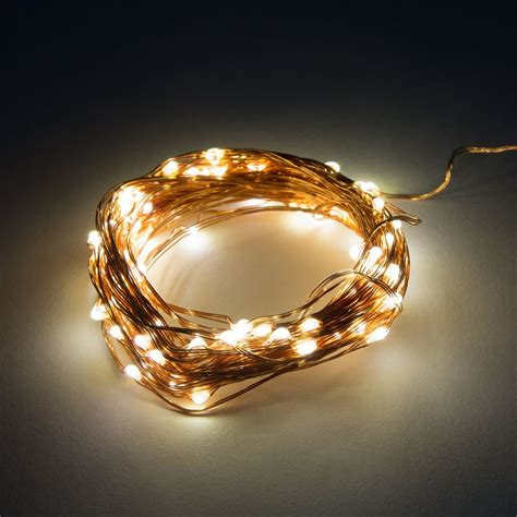 led fairy lights 16 5 foot battery operated waterproof