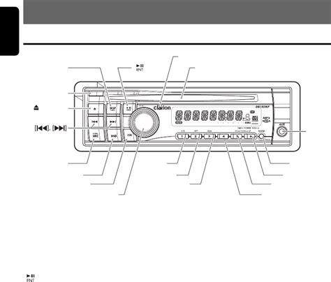 clarion marine radio wiring diagram hecho marine