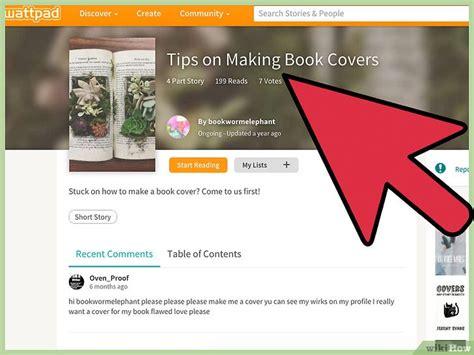 libro how to create a come creare una copertina per il tuo libro su wattpad com