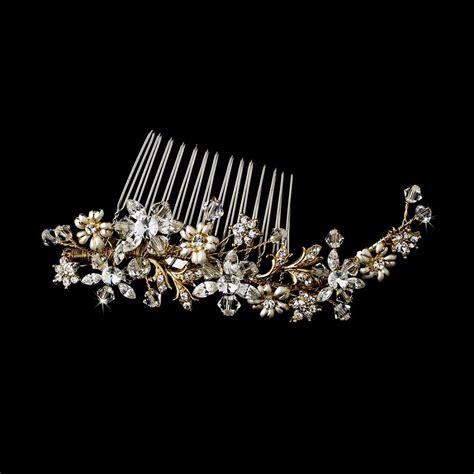 wedding combs gold popular haircuts