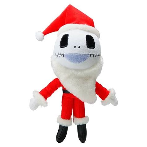 nightmare before christmas santa skellington plush