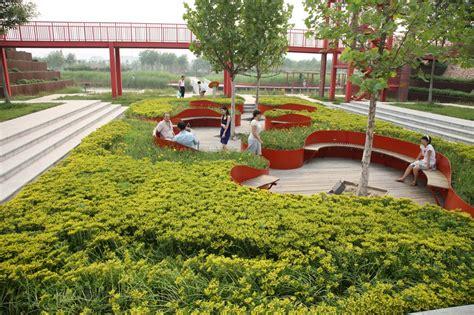 Archdaily Landscape Shanghai Houtan Park Turenscape Archdaily