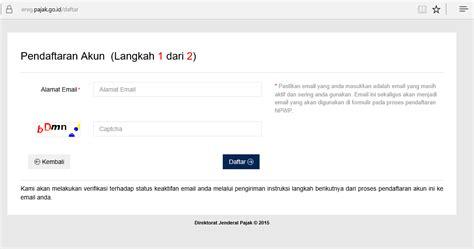 membuat npwp online 2014 cara membuat npwp online niia blog