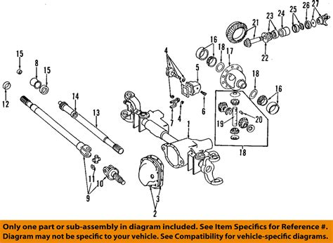 dodge ram 1500 4x4 front axle parts diagram dodge free