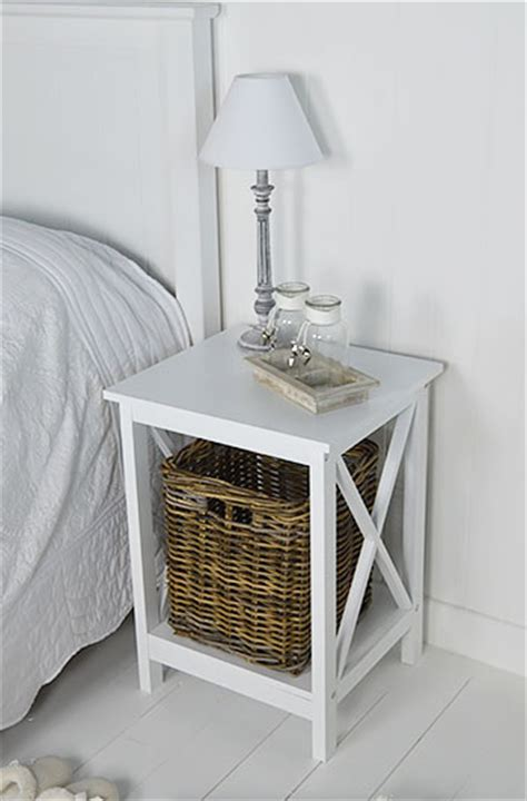 Henley Bedroom Furniture Henley White Bedside Table From The White Lighthouse