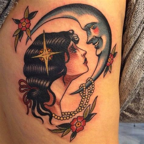 7th son tattoo 1000 images about tattoos on the moon pin up