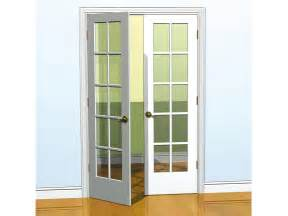 all about french doors diy 36 in x 80 in classic french glass wood universal reversible