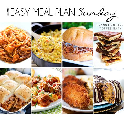 simple dinner recipes for 6 easy meal plan 19 eazy peazy mealz