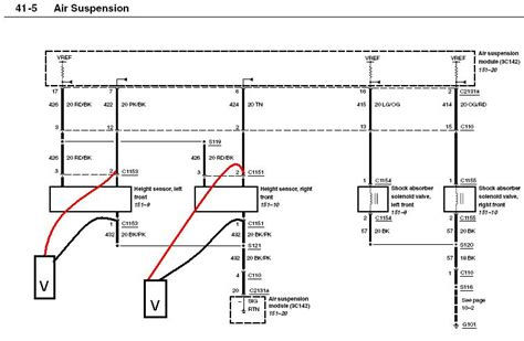2003 lincoln navigator air suspension diagram i a 2003 lincoln navigator and the air suspension is