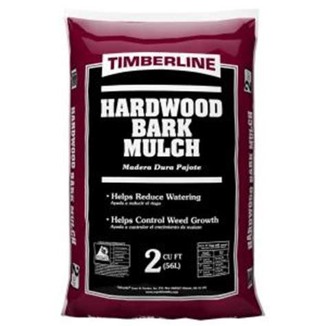 timberline 2 cu ft shredded hardwood mulch 52055476