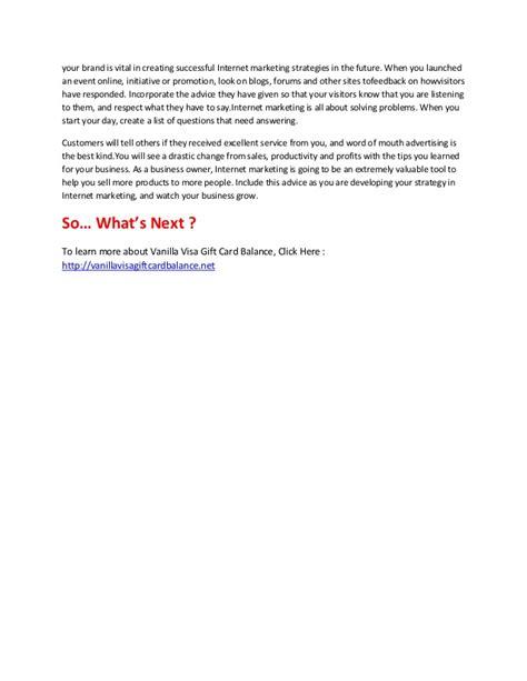 Visa Vanilla Gift Card Balance Online - vanilla visa gift card balance