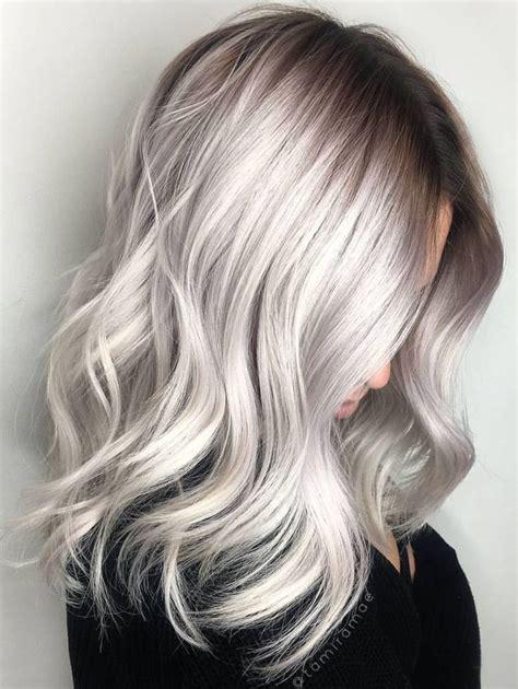 pinstest hair color and styles pinterest deborahpraha silver grey hair color