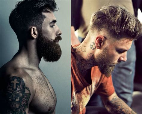 Hairstyles For 2017 Undercut by Cool Undercut With Beard Mens Hairstyles 2017 Hairdrome