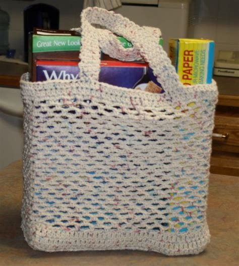 crochet pattern plastic bag tote 17 best images about crocheted plastic my mom bags and i am