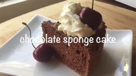 Coklat 60 Gr how to make chocolate sponge cake resep bolu coklat