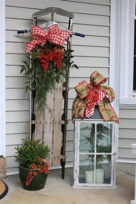 60 trendy outdoor christmas decorations family holiday