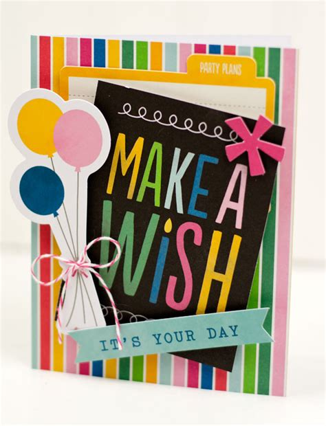 quick printable birthday cards quick and easy birthday cards pebbles inc