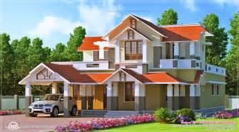 Kerala style dream home design in 2900 sq feet house design plans