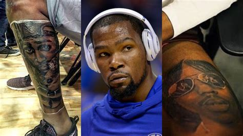 kd tattoos kevin durant explains his 2pac and rick tattoos