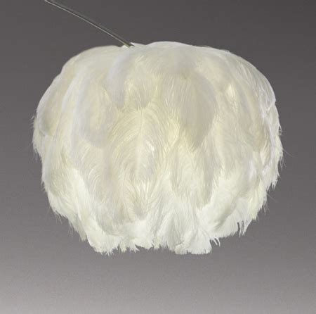 ostrich feather l shade mm interior design july 2010