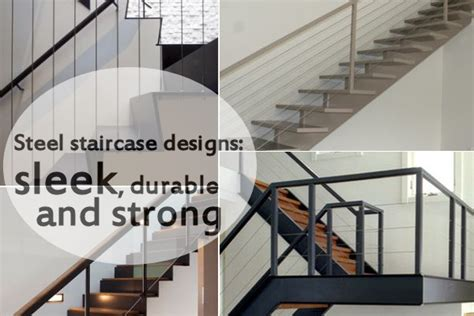Sleek Kitchen Designs by 10 Steel Staircase Designs Sleek Durable And Strong