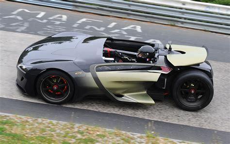 peugeot electric car battery test peugeot ex1 sets electric car lap record at