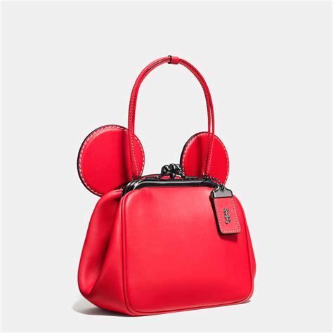 Slingbag Handbag Mickey Mouse Fashion disney coach 1941 team up for limited edition leather
